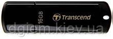 Флеш-память 16Гб TRANSCEND 350 Black