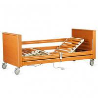 """Кровать с электромотором """"Sofia"""" на колесах, с перилами и гусем регулируемая высота 30-70см, металлический кар"""