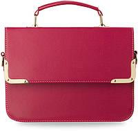 Розовая женская сумка-мессенджер ATJENA