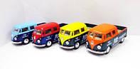 "Модель автобус 5"" KT5396W Volkswagen Bus Delivery (1963) метал.инерц.открыв.дв.кор.ш.к./96/(KT5396W)"