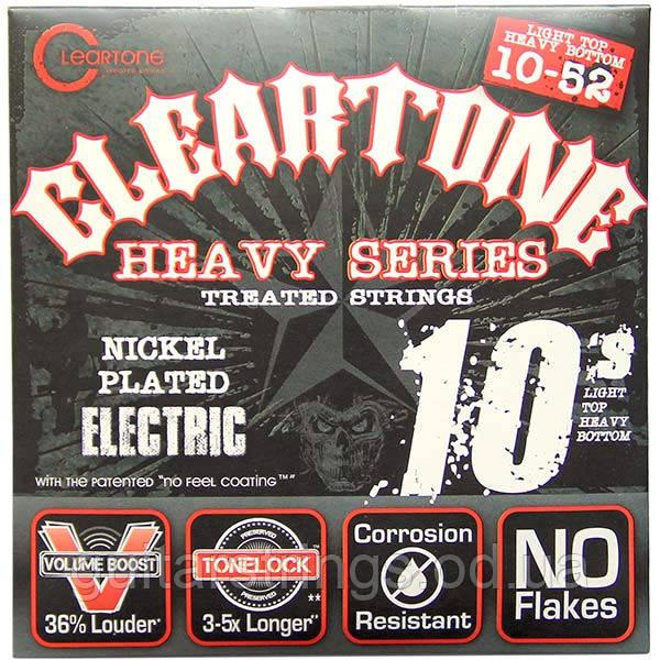 Струны Cleartone 9520 Light Top Heavy Bottom 10-52 Nickel-Plated Monster