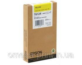 Картридж EPSON STPRO 7400/ 7450/ 9400/ 9450 YELLOW, 220МЛ (C13T612400)