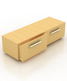 Тумба-накопитель на два ящика