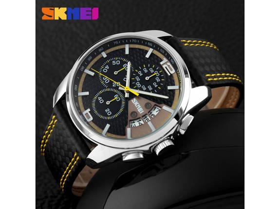 Часы мужские Skmei Spider 9106 Yellow, фото 2