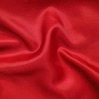 Ткань подкладочная, подкладка Т-190 - цвет красный