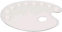 Палитра овальная с лунками 28х22см, Маэстро