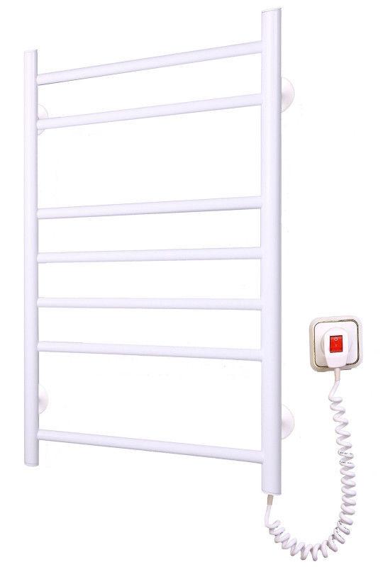 Электрический полотенцесушитель от производителя Elna модель Лесенка-7 белого цвета