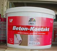 Dufa Beton-Kontakt Адгезионная пигментированная грунтовка 5 кг, фото 1
