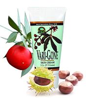 """Крем """"Вэри - Гон""""/Vari-Gome Skin Gream  - Антиварикозный лечебный крем для ног."""