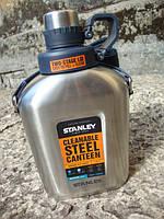 Фляга стальная на ремне STANLEY Adventure 1 L - (10-01930-003), фото 1