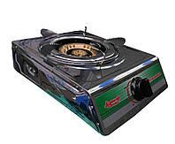 Газовая плита 1 конфорка SUPERPLAST: 2800 Вт, варочная поверхность из нержавейки, 2 режима работы