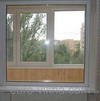 Глухое металлопластиковое окно VIGRAND 4 кам 1300*1400