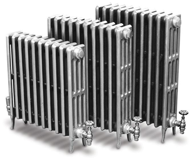 Английский чугунный радиатор ретро Carron  Victorian
