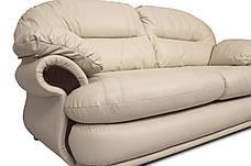 Кожаный комплект мебели Орландо без реклайнера, мягкая мебель, мебель в коже, кожаная мебель, комплект мебели, фото 3