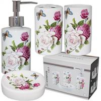 Набор аксессуаров для ванной комнаты 'Романтика' Snt 888-125