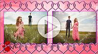 Шаблоны слайд-шоу «История любви»