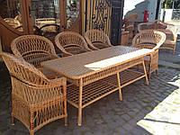 Мебель из лозы, ручной работы
