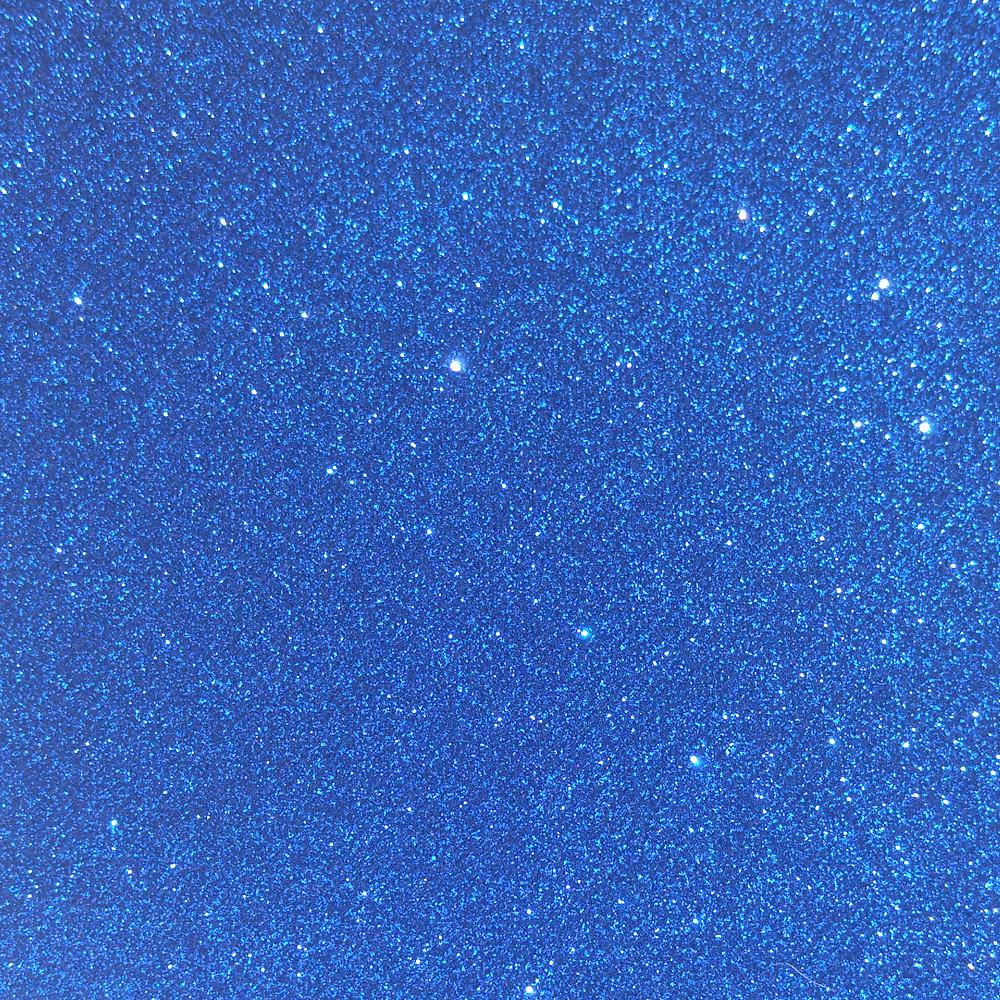 Глиттер 0.6 мм с клеевым слоем, Корея, СИНИЙ, 15х20 см