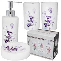 Набор аксессуаров для ванной комнаты 'Каллы' Snt 888-105