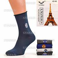 Мужские носки без резинки Nanhai A231. В упаковке 12 пар
