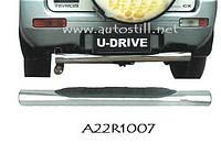 Защита заднего бампера (труба) Daihatsu Terios 1998-2012