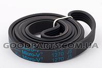 Ремень для стиральной машины 1270 J5 Micro-V 6602-001497 черный Samsung