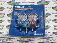 Манометрический коллектор 2-вентильный VMG-2-R410A-02 Value