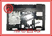 Нижняя часть (корыто) Lenovo G580, G585 с HDMI Черный Версия 1