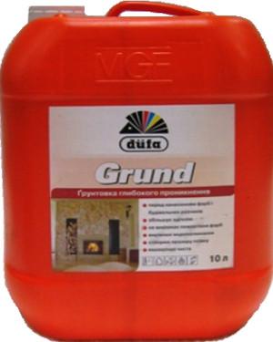 Dufa Grund 10 литров - Укргост, строительная химия, лаки, краски, клей, герметики, инверторы, гвозди, электроды, Киев  в Киеве