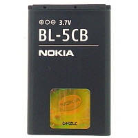 Аккумулятор Nokia BL-5CB (1800, 1280, 1616)