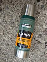 Термос STANLEY Classic Hertiage 0,47L - Зеленый (10-01228-027)