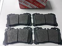 Тормозные колодки передние (оригинальные) на Lexus LS, фото 1