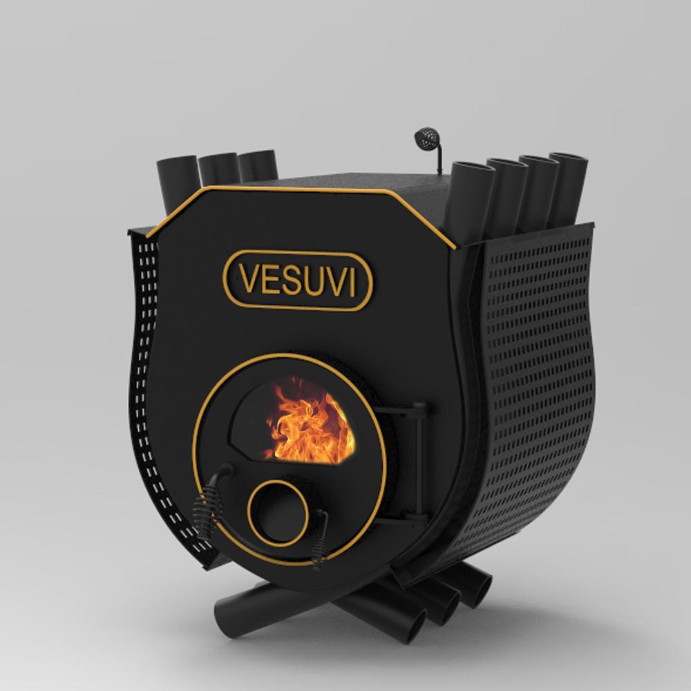 Печь калориферная «VESUVI» с варочной поверхностью «О1» стекло+перфорация