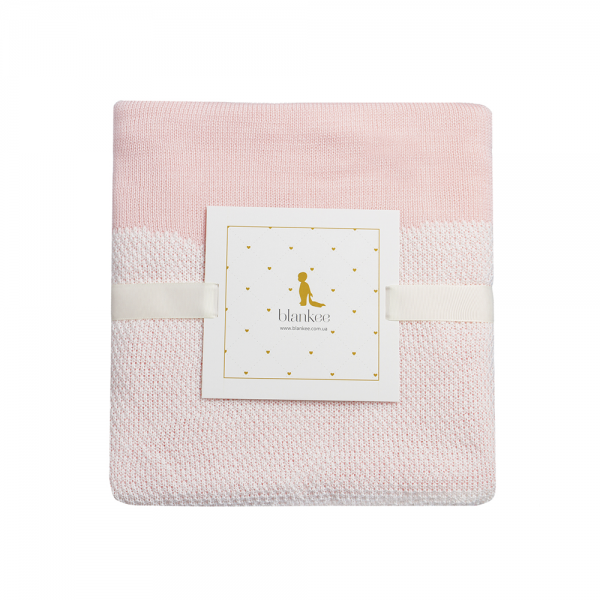 Плед Blankee Love White/Pink
