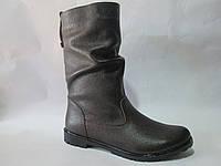 Женские ботинки кожаные TRENT, р 36-40/т.коричневые