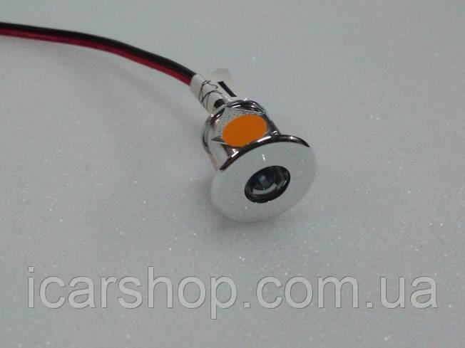 Точечный светильник для салона 200 RLS0.06PCRK (оранжевый) Domatic