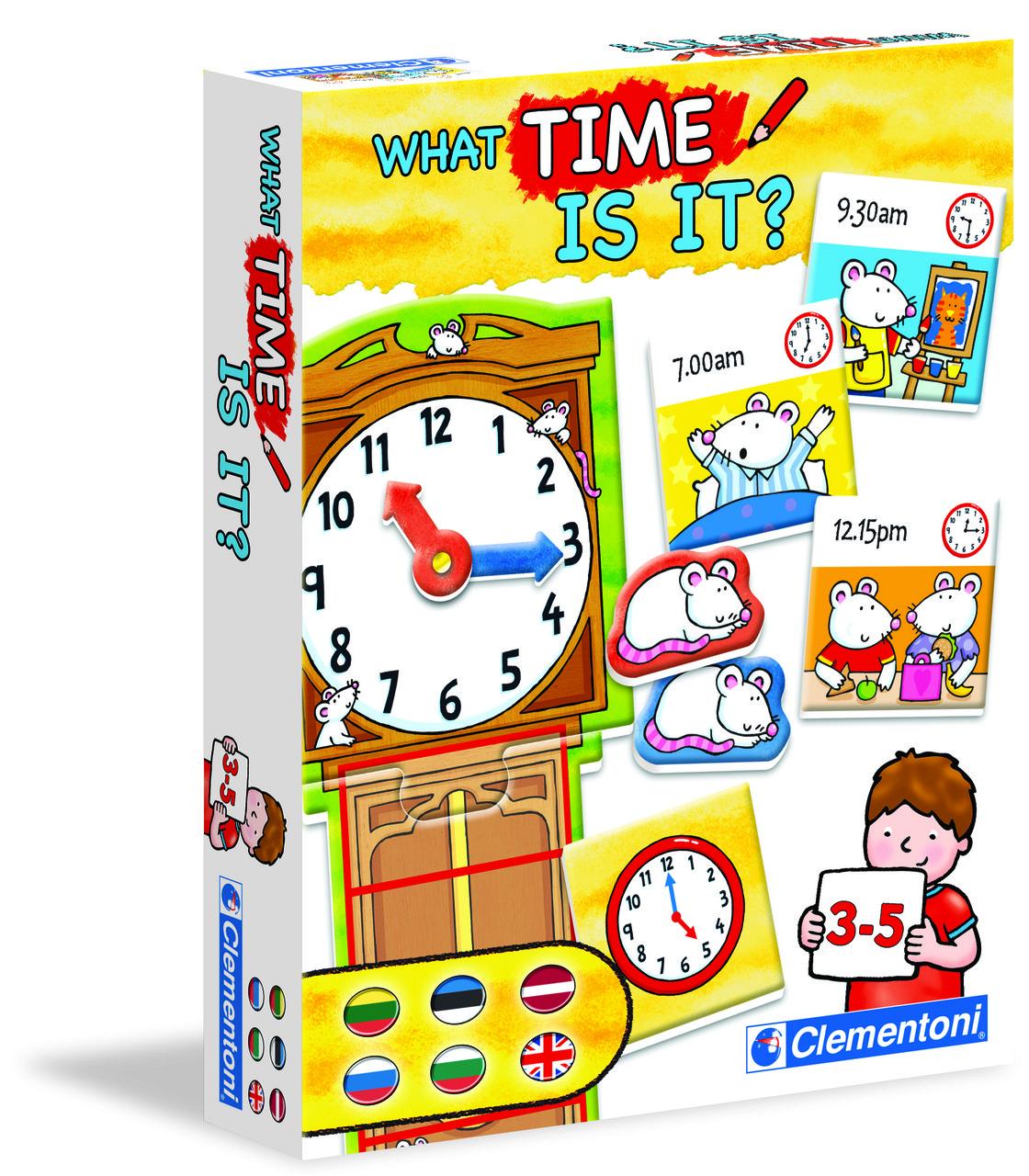 Іграшка розвиваюча Clementoni Годинник
