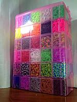 Самый большой набор резинок для плетения Мега 50000