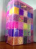 Самый большой набор резинок для плетения Мега 50000, фото 3