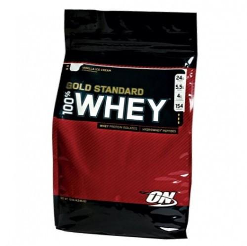 Протеин изолят Gold Standard 100% Whey Optimum Nutrition  (4,5 kg) USA