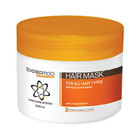 Маска для всех типов волос с коллагеном и экстрактом ростков пшеницы 300 мл Tico Expertico