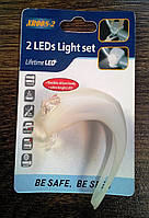 LED Велофонарь на силиконом браслете