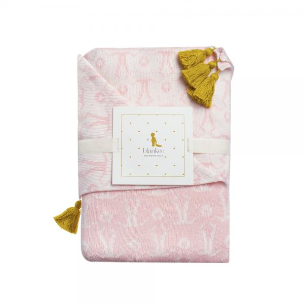 Плед Blankee Bears Pink