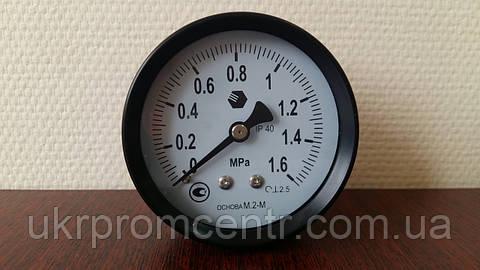 Манометр, мановакуумметр и вакуумметр М.2-М, М.2-В