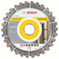 Алмазный диск Bosch Best for Universal 125-22,23