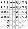 """Трафареты-наклейки для nail-art """"Орнаменты"""", фото 4"""