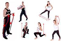 Резиновая петля для тренировок (усилие 23 - 57 кг).
