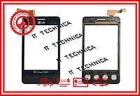 Тачскрін LG E405 Optimus L3 Чорний