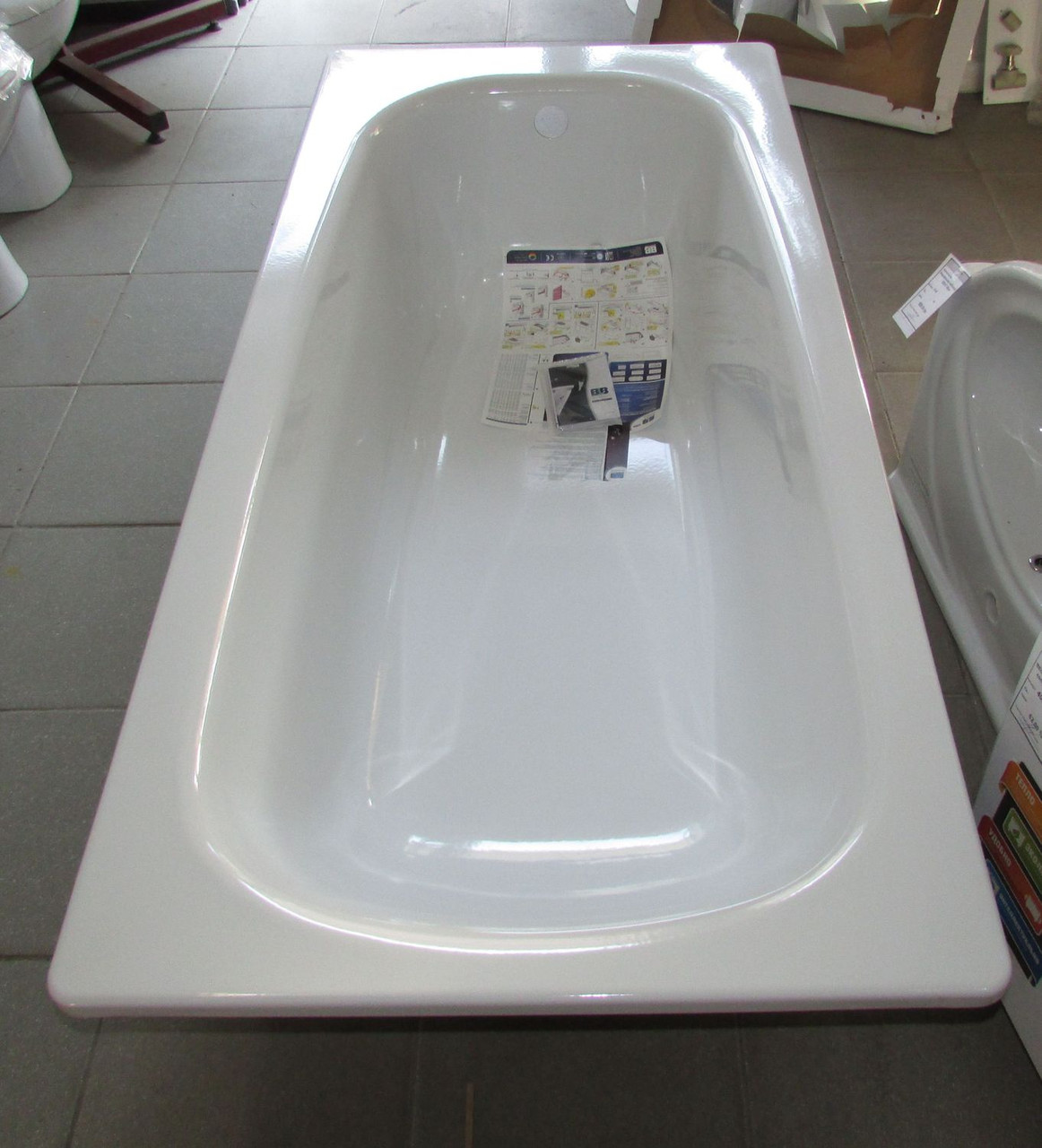 Ванна стальная BLB UNIVERSAL HG 1,5*0,7 т.3,6 мм(б/н)