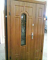 ВХІДНІ ДВЕРІ з Ковкою БРОНЬОВАНІ в часний будинок БЕЗКОШТОВНА ДОСТАВКА, двери входные 1,20 на 2,05, фото 1